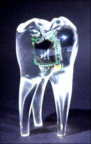 Tooth phone