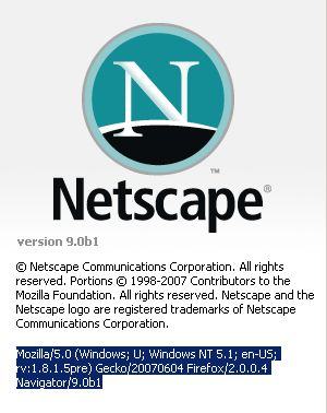Netscape 9.0 beta 1