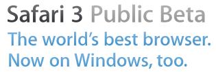 Safari 3 beta windows