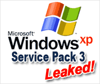 Windows XP Service Pack 3 Technical Beta