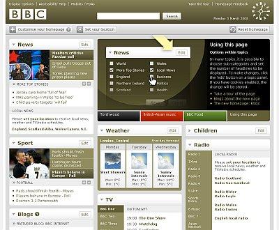 BBC jaunā seja