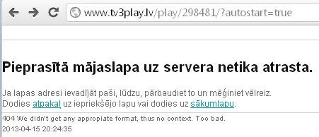 TV3Play TV3 tiešraide