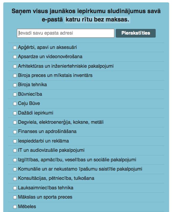 Pievienot e-pastu