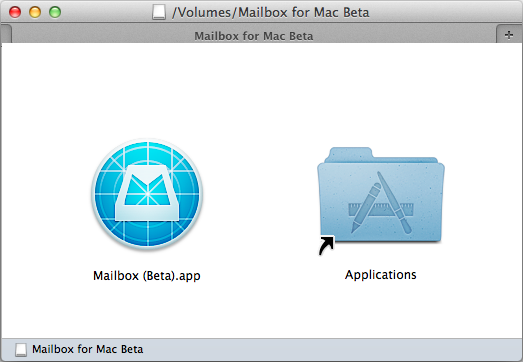 Mailbox application