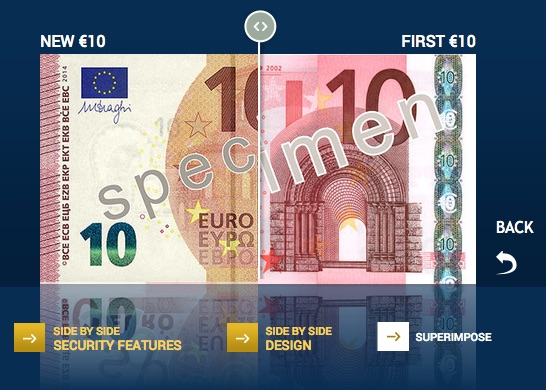 10 euro new vs. old