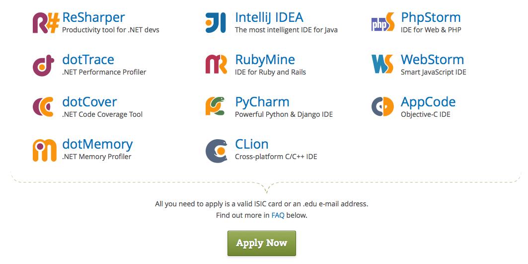 Studentiem JetBrains produkti pieejami bez maksas | Pods.lv