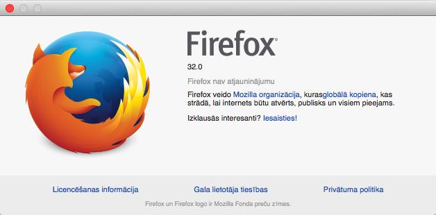 Firefox 32.0