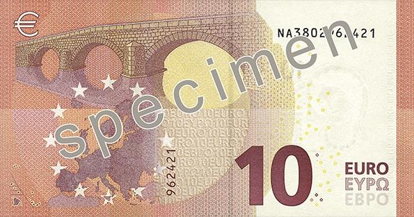 10 euro back