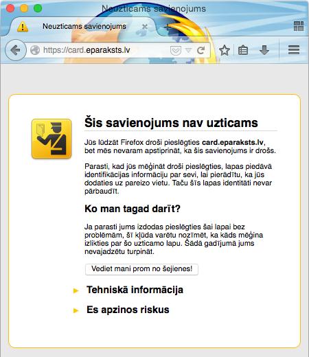 Firefox eparaksts