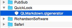 QLMarkdown generator