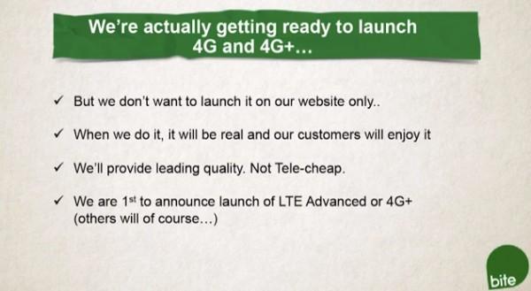 Bite 4G LTE advanced
