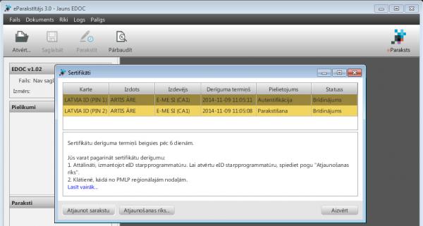 Windows sertifikati