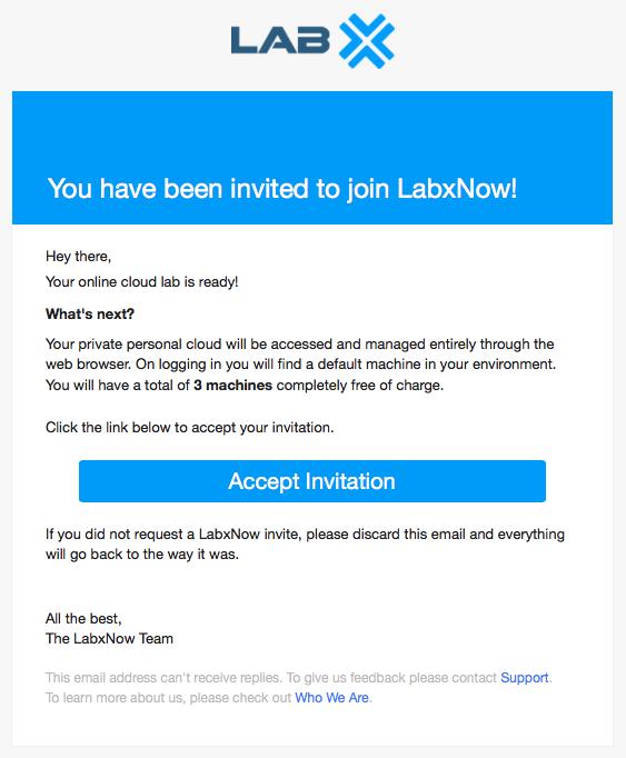 LabxNow invite