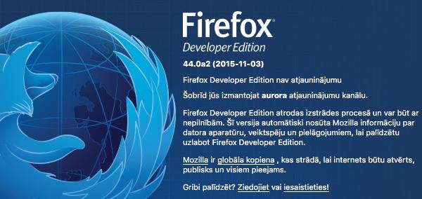 firefox developer 44